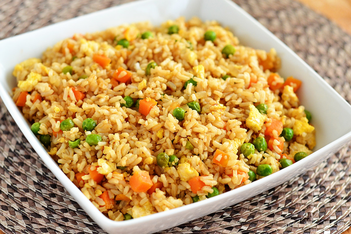 This fried rice is the best! Better than any takeout!