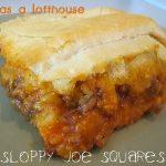 Sloppy Joe Squares