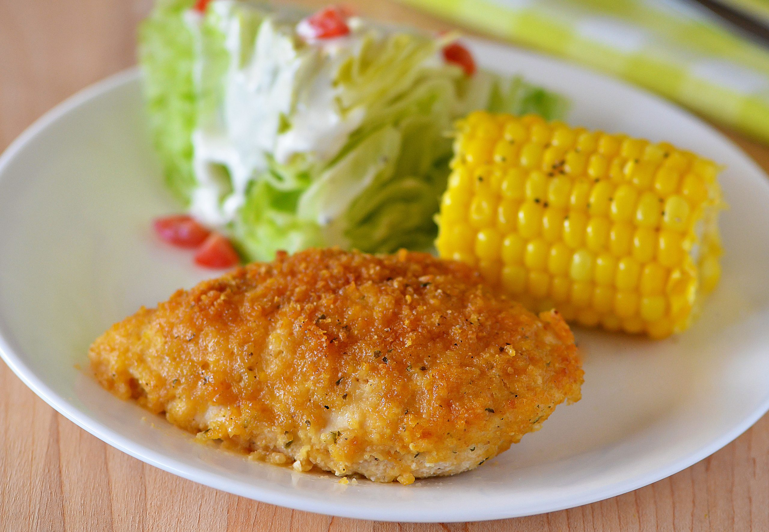 Ranch Chicken has an outside coating that is crispy and packed with ranch flavor and an inside that is tender and juicy. Life-in-the-Lofthouse.com
