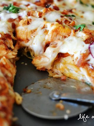 Barbecue Chicken Bacon Pizza