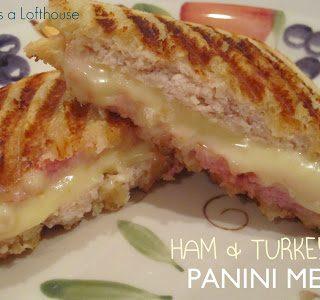 Ham & Turkey Panini Melt