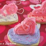3D Valentine Sugar Cookies
