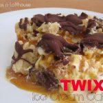 TWIX Ice Cream Cake