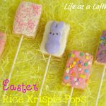 Easter Rice Krispie Pops