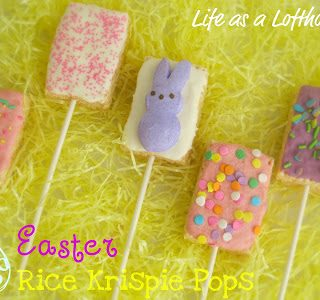 Easter Rice Krispie Pops