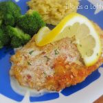 Almond Crusted Chicken with Creamy Lemon Sauce
