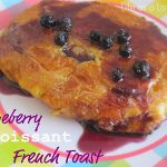 Blueberry Croissant French Toast