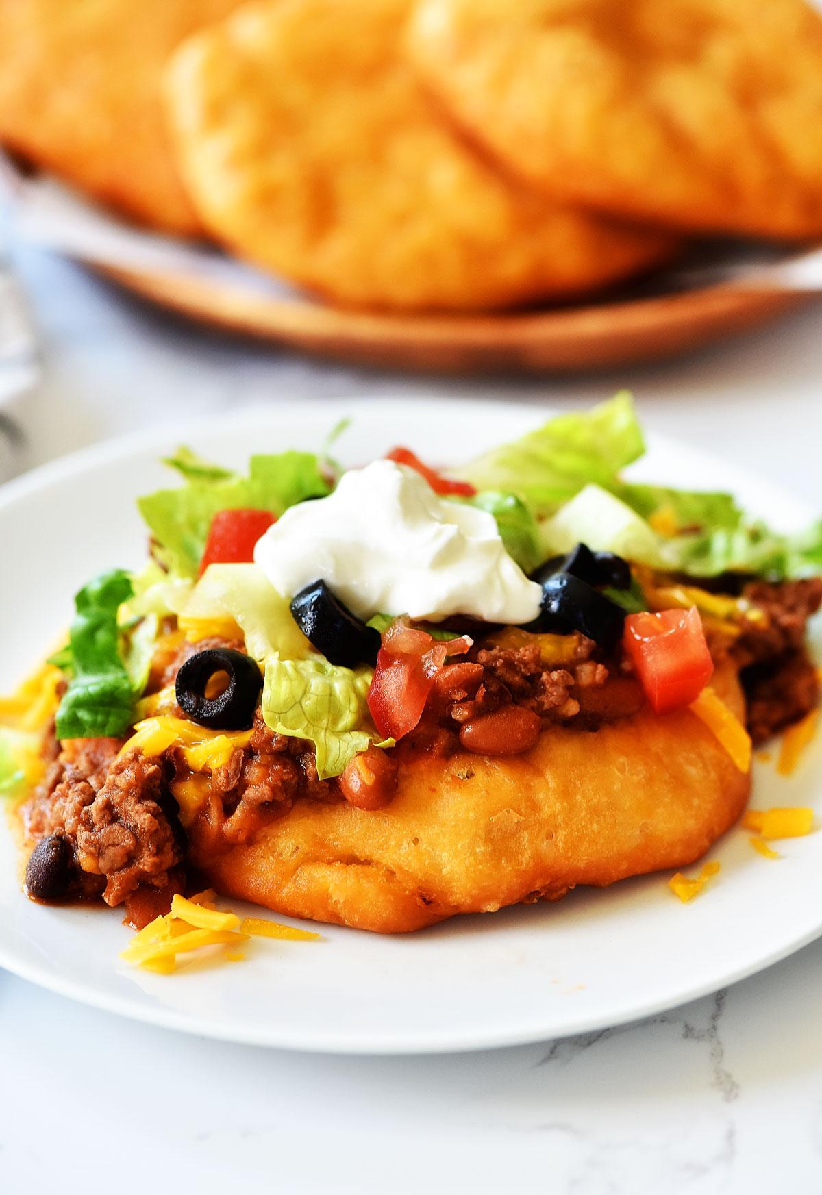 Easy Navajo Tacos
