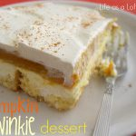 Pumpkin Twinkie Dessert