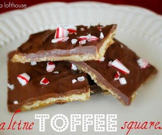 Saltine Toffee Squares