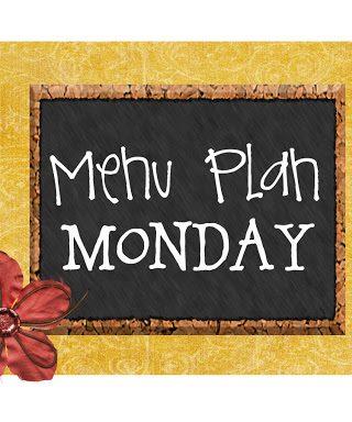 Menu Plan Monday #16