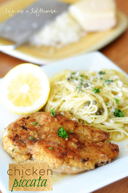 The BEST Chicken Piccata I've ever had