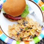 Fiesta Chicken Pasta Salad {Kraft Contest & Virtual BBQ}
