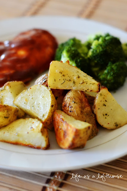 Ranch Roasted Potatoes Life In The Lofthouse