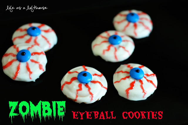 Zombie Eyeball Cookies