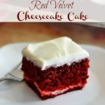 Red Velvet Cheesecake Cake