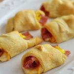 Ham, Egg & Cheese Crescent Rolls