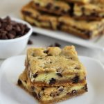 Cheesecake Chocolate Chip Cookie Bars