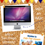 Back to School Giveaway with an iMac and San Diego Vacation!