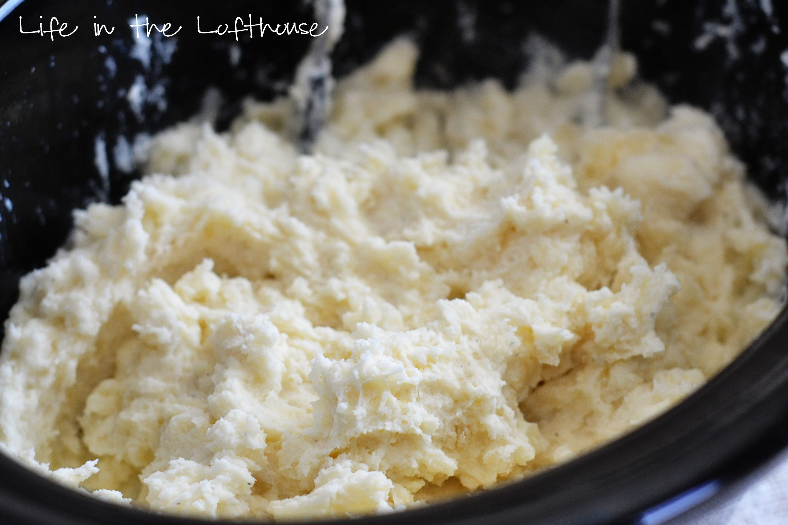 Crock Pot Creamy Mashed Potatoes