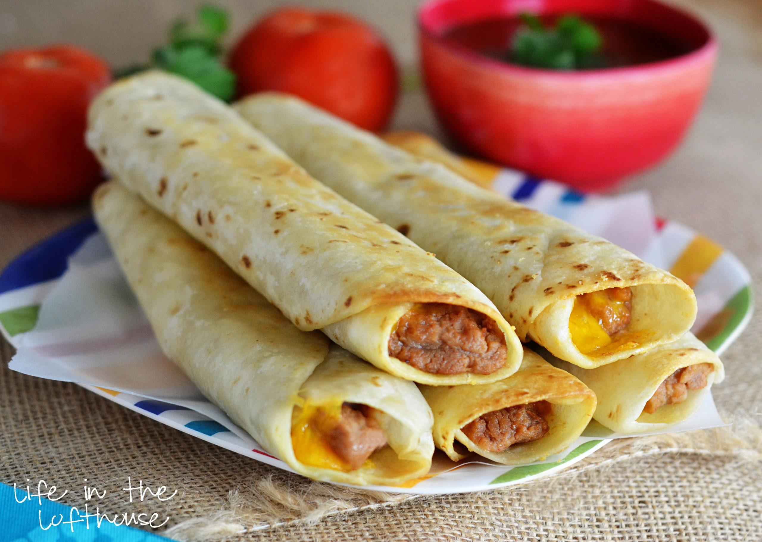 Bean Burritos Recipes — Dishmaps