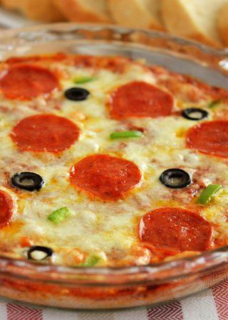 Warm Pizza Dip