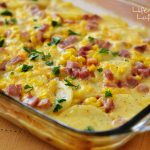 Scalloped Potatoes Ham and Corn Bake
