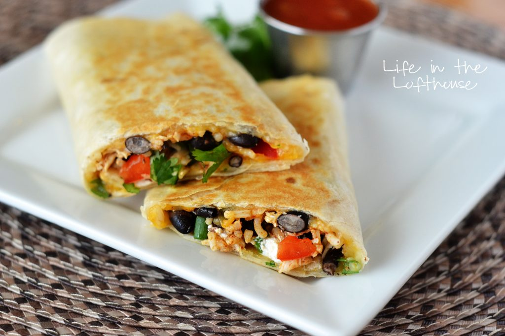 southwest-chicken-wraps
