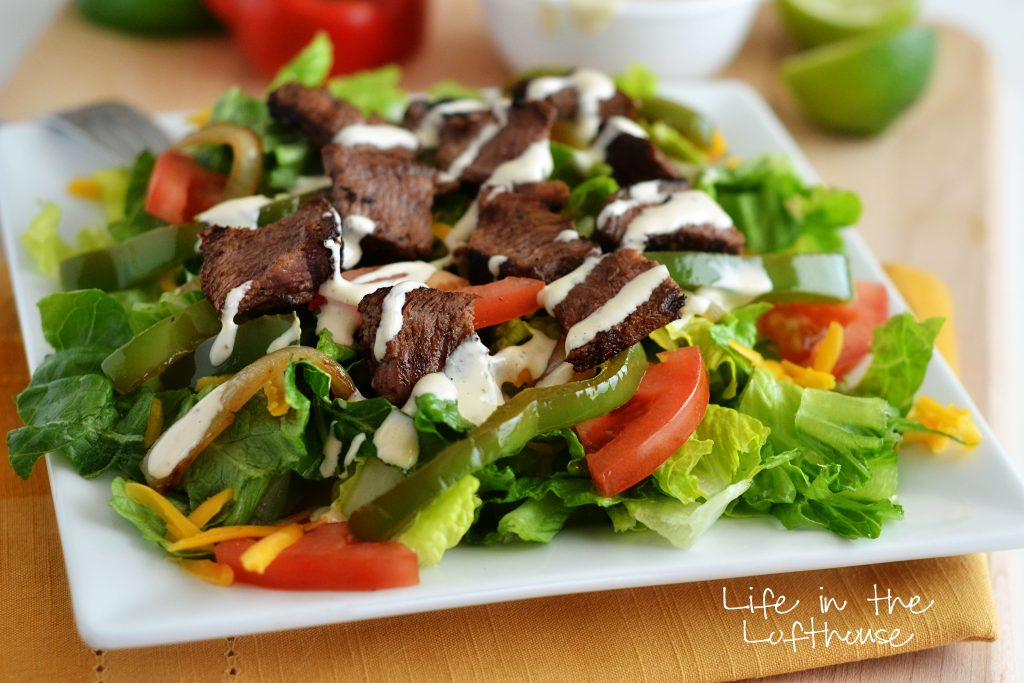 steak-fajita-salad