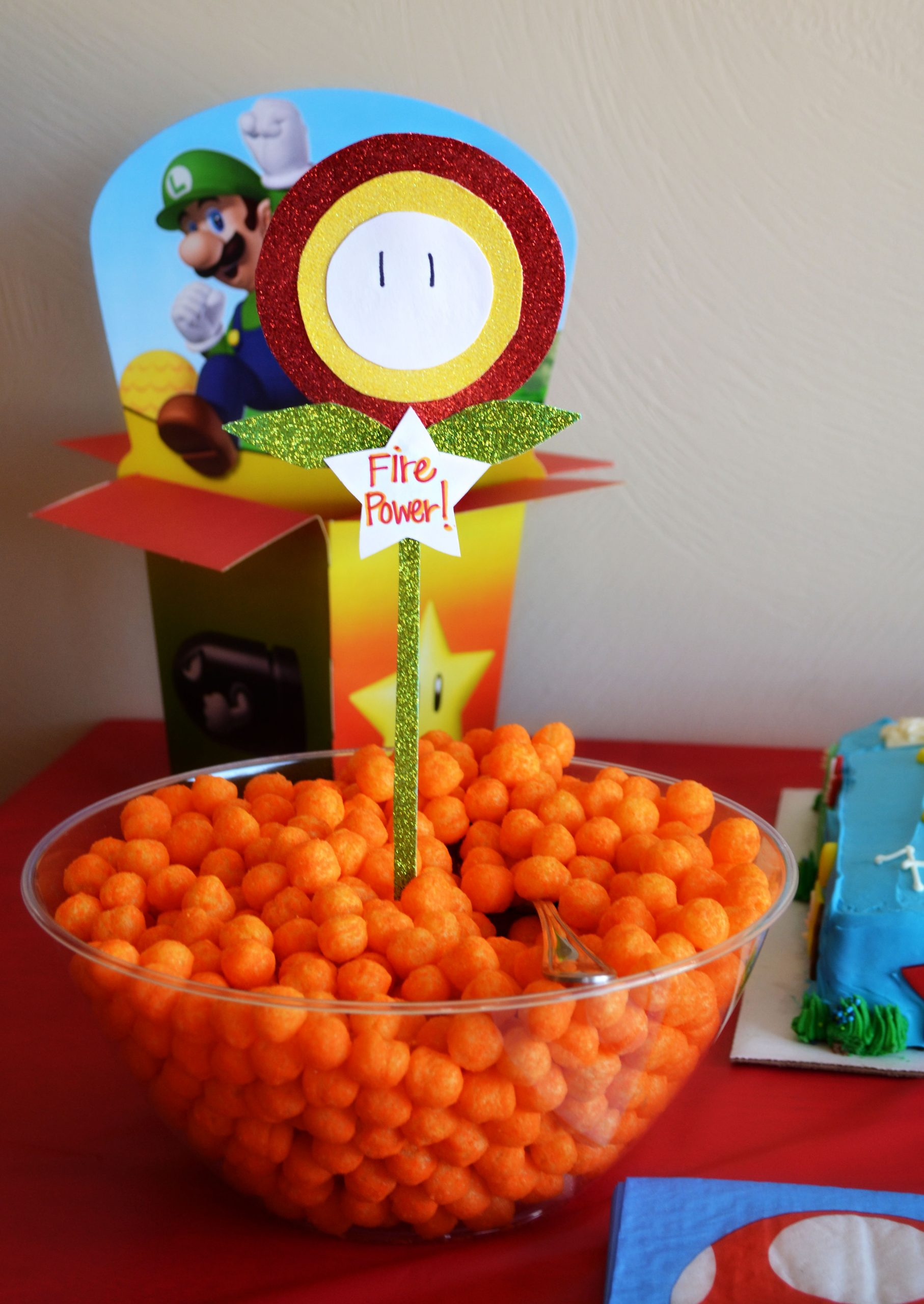 Super Mario Brothers Party Amp Happy Birthday Kallen