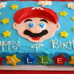 Super Mario Brothers party & Happy Birthday, Kallen!