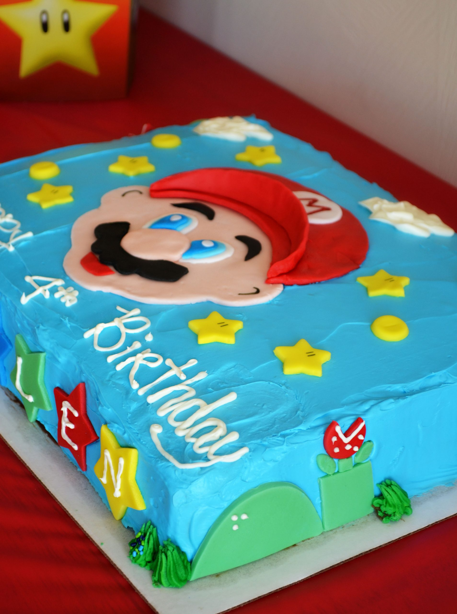 Kids Party Ideas Super Mario Bros Birthday LONG HAIRSTYLES