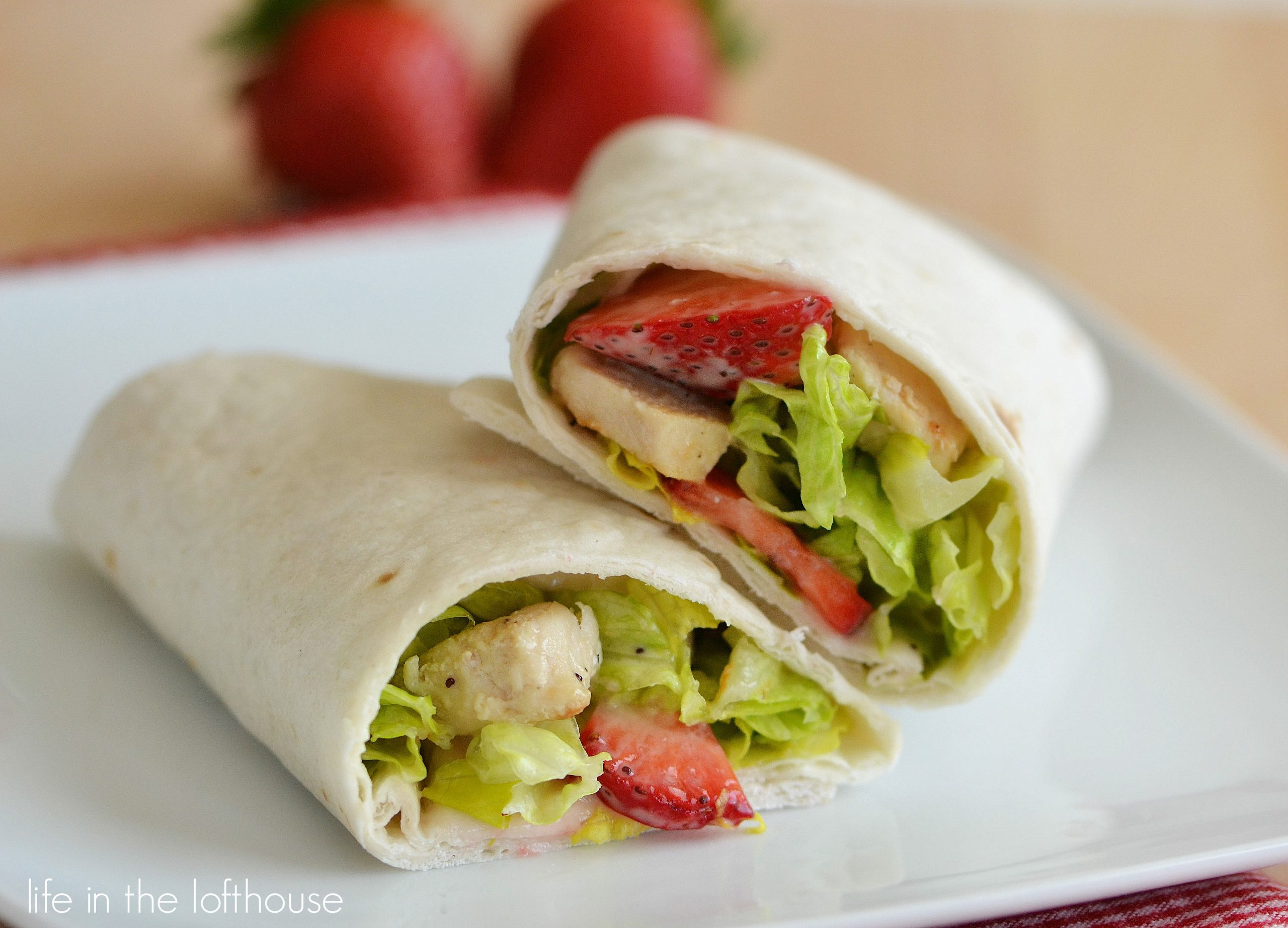 Chicken Wraps Recipe — Dishmaps