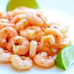 Honey lime shrimp is baked shrimp with a hint of lime, honey and spice. Life-in-the-Lofthouse.com