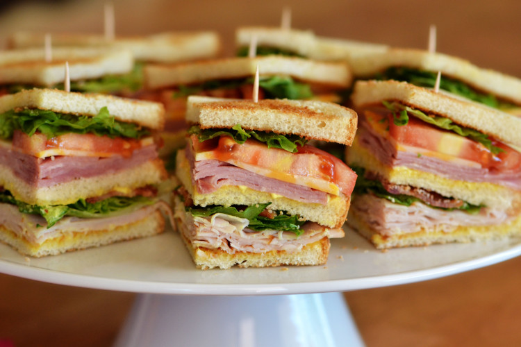 The BEST Club Sandwiches