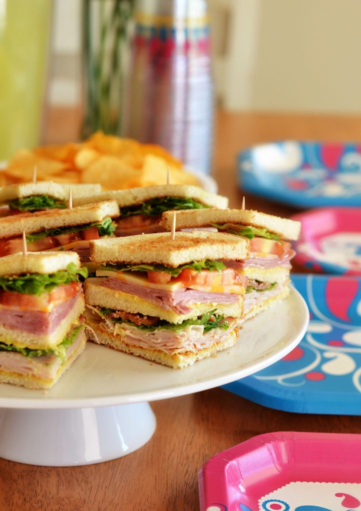 Club sandwiches are delicious sandwiches loaded with ham, turkey, bacon, cheese and more. Life-in-the-Lofthouse.com