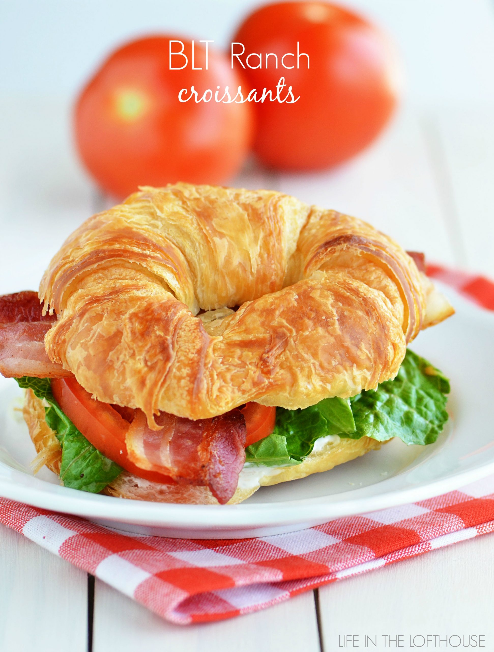 blt ranch croissants. Black Bedroom Furniture Sets. Home Design Ideas