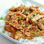 Honey Sesame Chicken is a delicious honey chicken recipe made in the slow cooker. Life-in-the-Lofthouse.com