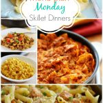 Menu Plan Monday ~Skillet Dinners