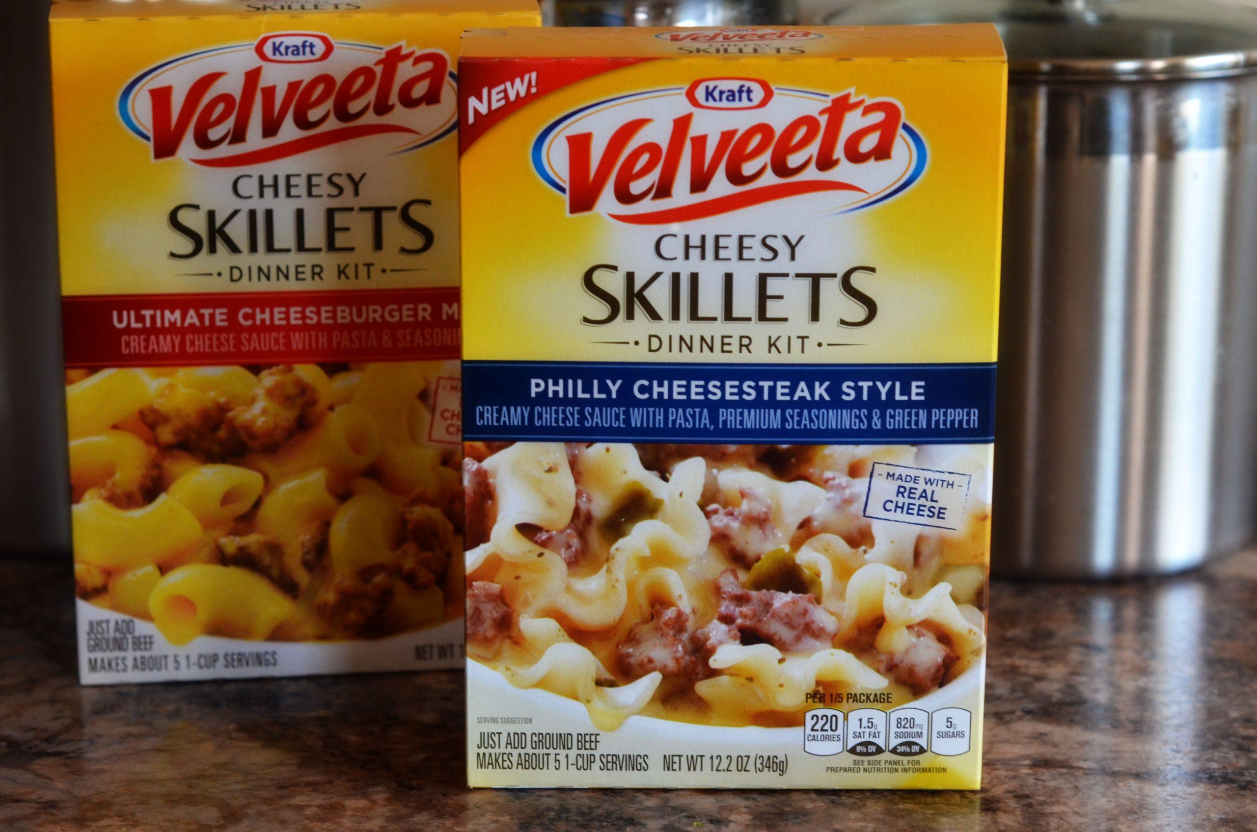 Velveeta Cheesy Skillet Dinner