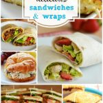 Menu Plan Monday ~16 Delicious Sandwiches and Wraps