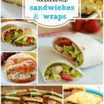 Menu Plan Monday ~16 Delicious Sandwiches and Wraps