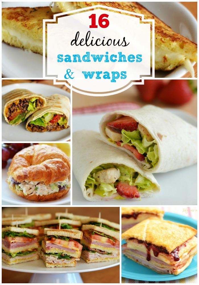 Menu Plan Monday 16 Sandwiches And Wraps