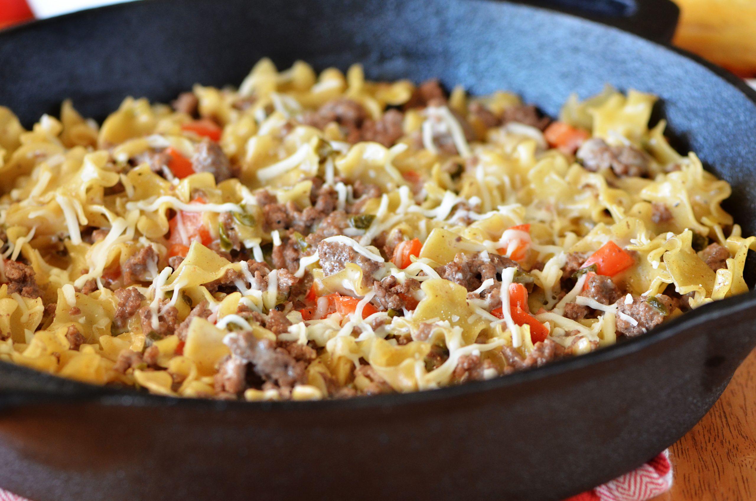 Velveeta cheesy pasta recipe