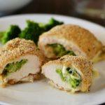 Broccoli and Cheese Stuffed Chicken