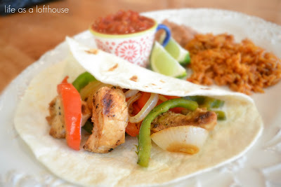 chilis fajitas