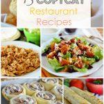 13 Copycat Restaurant Recipes