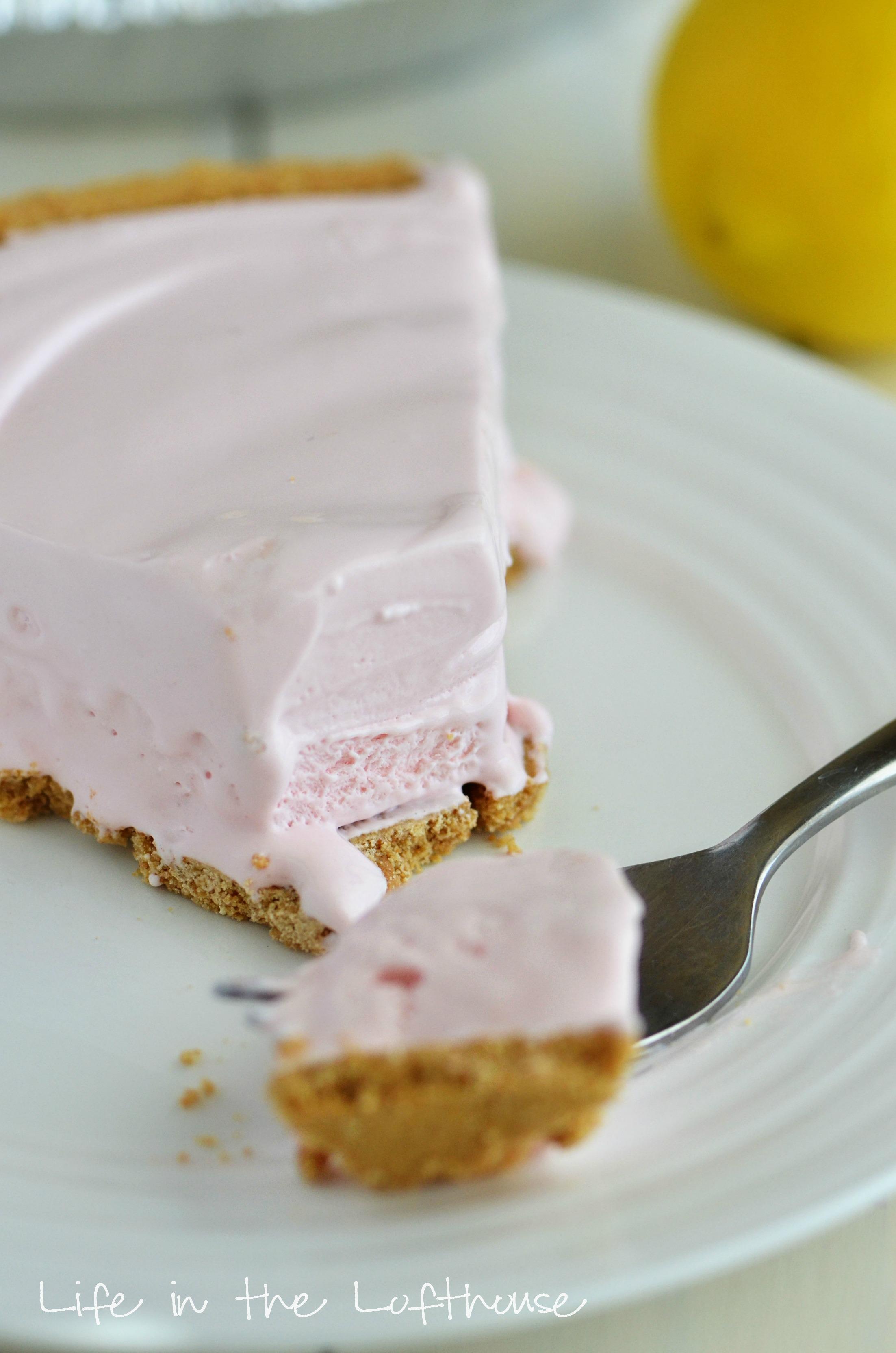 Frozen Lemonade Pound Cake