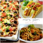 Menu Plan Monday #59