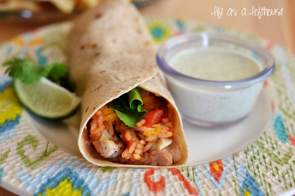 grilled-chicken-burritos